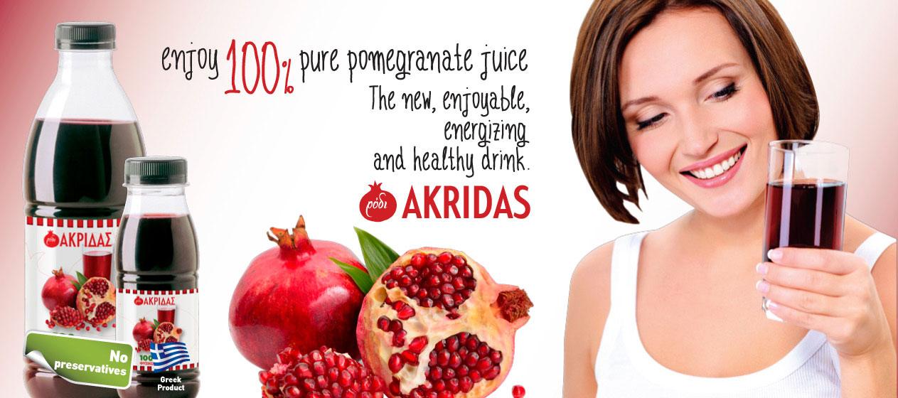 Pure Pomegranate Akridas