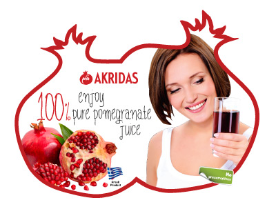 Pomegranate Pure Juice Akridas